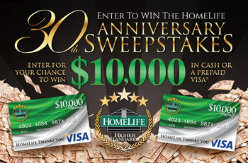 HomeLife Benchmark Langley Sweepstakes Enter to Win